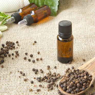 Black Pepper Essential OilPiper NigrumFortifying • Spicy • Stimulating • Warming • Helps relieve muscular aches and spasms