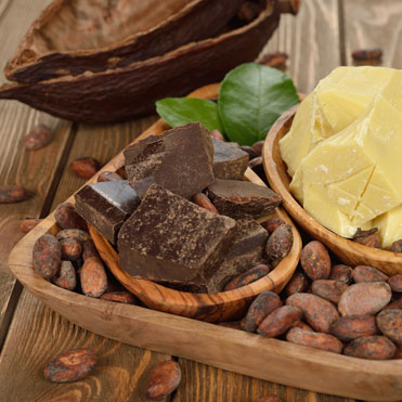 Cocoa ButterTheobroma CacaoA softening natural skin salve • Helps fade stretch marks • Heals scar tissue • Excellent for severely dehydrated skin